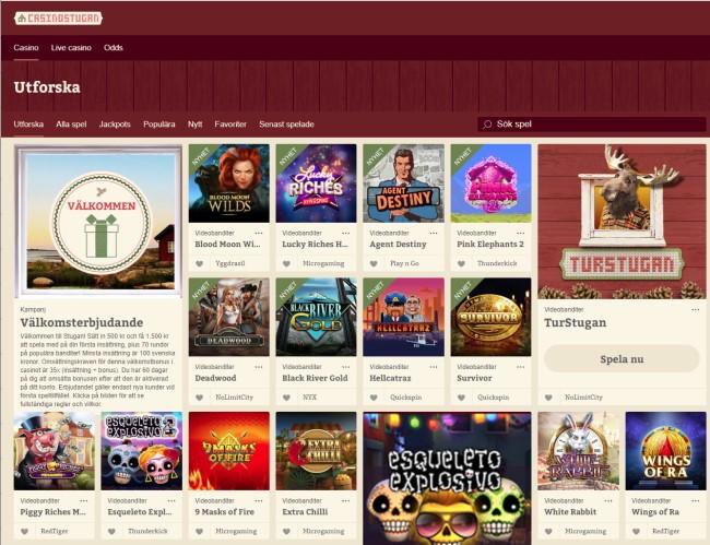 Casinostugan - Casino med svensk licens